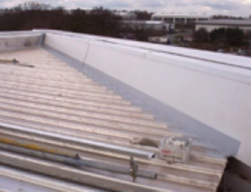 Tapered gutter